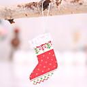 voordelige Gegoten & Speelgoedvoertuigen-Kerstkousen Kerstmis Puinen Vierkant Noviteit Kerst decoratie