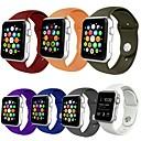 voordelige Apple Watch-hoesjes-Horlogeband voor Apple Watch Series 4/3/2/1 Apple Sportband Silicone Polsband