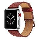 baratos Acessórios para Relógios-Pêlo de Bezerro Pulseiras de Relógio Alça para Apple Watch Series 3 / 2 / 1 Preta / Azul / Vermelho 23cm / 9 polegadas 2.1cm / 0.83 Polegadas