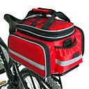 hesapli Bisiklet Eldivenleri-FJQXZ Bisiklet Arka Çantaları / Bisiklet Tekerleği Sepetleri / Bisiklet Arka Çantaları Su Geçirmez, Büyük Kapasite, Ayarlanabilir Boyut Bisiklet Çantası Naylon Bisikletçi Çantası Bisiklet Çantası
