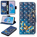 cheap Cases / Covers for Huawei-Case For Huawei Mate 10 lite / Huawei Mate 20 Pro Wallet / Card Holder / with Stand Full Body Cases Butterfly Hard PU Leather for Huawei Nova 3i / Huawei P Smart Plus / Huawei Honor 7A