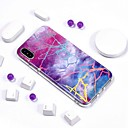 cheap iPhone X Screen Protectors-Case For Apple iPhone XR / iPhone XS Max IMD / Pattern Back Cover Marble Soft TPU for iPhone XS / iPhone XR / iPhone XS Max