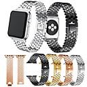 Χαμηλού Κόστους Λουράκια καρπού για Garmin-Παρακολουθήστε Band για Apple Watch Series 4 / Apple Watch Series 4/3/2/1 Apple Κλασικό Κούμπωμα Μέταλλο / Ανοξείδωτο Ατσάλι Λουράκι Καρπού