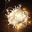 hesapli LED Spot Işıkları-10m Dizili Işıklar 100 LED'ler Sıcak Beyaz Dekorotif 220-240 V 1set