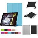 رخيصةأون سجادات-غطاء من أجل Acer Acer Iconia One 10 B3-A30 / Acer Iconia One 10 A3-A40 مع حامل / قلب / أورجامي غطاء كامل للجسم لون سادة قاسي الكمبيوتر الشخصي