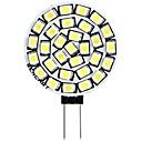 저렴한 LED Bi-pin 조명-SENCART 1 개 3 W 180 lm G4 LED Bi-pin 조명 T 30 LED 비즈 SMD 2835 장식 따뜻한 화이트 / 화이트 12 V