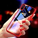 olcso iPhone tokok-Case Kompatibilitás Apple iPhone XR / iPhone XS Max Ultra-vékeny / Átlátszó Fekete tok Egyszínű Kemény TPU mert iPhone XS / iPhone XR / iPhone XS Max