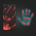 halpa Meikki & kynsienhoito-Etui Käyttötarkoitus Apple iPhone X / iPhone 8 Plus Himmeä Takakuori Yhtenäinen Pehmeä Silikoni varten iPhone X / iPhone 8 Plus / iPhone 8