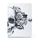 cheap iPad  Cases / Covers-Case For Apple iPad (2018) / iPad Pro 11'' / iPad 4/3/2 Card Holder / with Stand / Flip Full Body Cases Skull / Flower Hard PU Leather for iPad Air / iPad 4/3/2 / iPad Mini 3/2/1