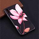 olcso iPhone tokok-Case Kompatibilitás Apple iPhone XR / iPhone XS Max Minta Fekete tok Virág Puha TPU mert iPhone XS / iPhone XR / iPhone XS Max