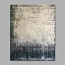 お買い得  TVBox-ハング塗装油絵 手描きの - 抽象画 近代の インナーフレームなし / ローリングキャンバス