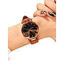 cheap Women's Watches-Women's Wrist Watch Quartz Quilted PU Leather Black / Red / Brown 30 m Water Resistant / Waterproof New Design Analog Ladies Casual Fashion - Red Green Pink