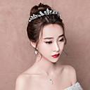 ieftine Machiaj Halloween-Regina Elisabeta 1950 Elegant Seturi de bijuterii Veșminte de cap Cercei Picătură Tiare Pentru Petrecere / Seară Bal Petrecere Nuntă Pentru femei Fete Costum de bijuterii / Argilă / Lănțișor