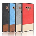 cheap Galaxy S Series Cases / Covers-Case For Samsung Galaxy S9 Plus / S9 Frosted Back Cover Solid Colored Soft PU Leather for Note 9 / Note 8 / Note 4