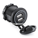 cheap Car Chargers-LOSSMANN Motorcycle / Car Car Charger 2 USB Ports for 5 V