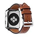 hesapli Saat Aksesuarları-Buzağı Tüyü Watch Band kayış için Apple Watch Series 4/3/2/1 Siyah / Kahverengi / Pembe 23cm / 9 inç 2.1cm / 0.83 İnç