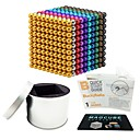 cheap Stacking Blocks-1000 pcs 5mm Magnet Toy Magnetic Balls Magnet Toy Building Blocks Magnetic Stress and Anxiety Relief Office Desk Toys Relieves ADD, ADHD, Anxiety, Autism Novelty Kid's / Adults' All Boys' Girls' Toy
