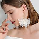 저렴한 아이폰 케이스-여성용 3D 드랍 귀걸이 귀걸이 꽃장식 숙녀 낭만적 단 우아함 보석류 화이트 / 블랙 / 퍼플 제품 일상 1 쌍