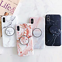 cheap Galaxy S Series Cases / Covers-Case For Apple iPhone XR / iPhone XS Max with Stand / IMD / Pattern Back Cover Marble Soft TPU for iPhone XS / iPhone XR / iPhone XS Max