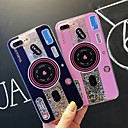 저렴한 아이폰 케이스-케이스 제품 Apple iPhone XR / iPhone XS Max 충격방지 / 플로잉 리퀴드 / 투명 뒷면 커버 타일 / 글리터 샤인 소프트 TPU 용 iPhone XS / iPhone XR / iPhone XS Max