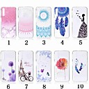 cheap Galaxy A Series Cases / Covers-Case For Samsung Galaxy A8 Plus 2018 / A7(2018) Transparent / Pattern Back Cover Flower Soft TPU for A5(2018) / A6 (2018) / A6+ (2018)