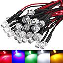 hesapli LEDler-5pcs Dip Led Parlak LED Çip Aluminyum