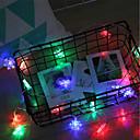 tanie Taśmy świetlne LED-brelong dekoracja świąteczna 20led płatek śniegu string 1 szt