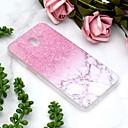 رخيصةأون حافظات / جرابات هواتف جالكسي J-غطاء من أجل Samsung Galaxy J6 / J6 Plus / J4 شفاف / نموذج غطاء خلفي حجر كريم ناعم TPU
