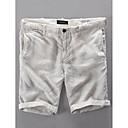 ieftine Lumini & Gadget-uri LED-Bărbați De Bază Zilnic Pantaloni Scurți Pantaloni - Mată Bej Bleumarin 34 36 38