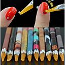 ieftine Echipament Testare, Măsurare & Inspecție-1 buc Materiale ecologice Unelte pentru unghii Unelte DIY Tools Pentru Multi Function / Cea mai buna calitate Seria albă nail art pedichiura si manichiura La modă / Modă Zilnic
