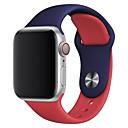 رخيصةأون واقيات شاشات Huawei-حزام إلى Apple Watch Series 4/3/2/1 Apple عصابة الرياضة / بكلة كلاسيكية سيليكون شريط المعصم