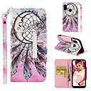 cheap Cases / Covers for Xiaomi-Case For Xiaomi Xiaomi A2 lite Wallet / Card Holder / Flip Full Body Cases Dream Catcher Hard PU Leather for Xiaomi A2 lite