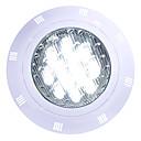 billiga Utomhuslampetter-1st 12 W Undervattensglödlampa Vattentät Kallvit / RGB / Vit 12 V / 24 V Utomhusbelysning / Simbassäng 12 LED-pärlor