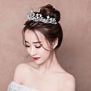 ieftine Moda Lolita-Prințesă Princess Lolita 1950 Elegant Stilul stelelor Tiare fruntea Crown Pentru Petrecere / Seară Bal Petrecere Nuntă Pentru femei Fete Cristal Argintiu Costum de bijuterii