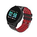levne Chytré hodinky-Kimlink W1 Muži Inteligentní hodinky Android iOS Bluetooth Monitor pulsu Měření krevního tlaku Spálené kalorie Sledování vzdálenosti Informace Krokoměr Záznamník hovorů Sledování aktivity Měři