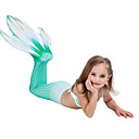 cheap Car Paint Pen-The Little Mermaid Aqua Princess Costume Girls' Kid's Mermaid and Trumpet Gown Slip Halloween Carnival Masquerade Festival / Holiday Lycra Outfits Rainbow / Green / Fuchsia Mermaid