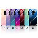 levne Galaxy S pouzdra / obaly-Carcasă Pro Samsung Galaxy S9 Plus / S9 Zrcadlo / Vzor Zadní kryt Zářící barvy Pevné Tvrzené sklo pro S9 / S9 Plus / S8 Plus