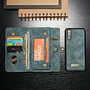 رخيصةأون Huawei أغطية / كفرات-غطاء من أجل Huawei Huawei P20 Pro محفظة / حامل البطاقات / مع حامل غطاء كامل للجسم لون سادة قاسي جلد PU