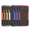 cheap Cases / Covers for Huawei-Case For Huawei Huawei Mate 20 Lite / Huawei Mate 20 Pro Shockproof / with Stand Back Cover Tile / Armor Hard PC for Mate 10 lite / Huawei Mate 20 lite / Huawei Mate 20 pro