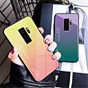 halpa Galaxy S -sarjan kotelot / kuoret-Etui Käyttötarkoitus Samsung Galaxy Galaxy S10 / Galaxy S10 Plus Peili Takakuori Color Gradient Kova Karkaistu lasi varten S9 / S9 Plus / S8 Plus