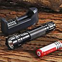 levne Pánské-UltraFire LED svítilny LED LED 1 Vysílače 1300 lm 5 Režim osvětlení s baterií a nabíječkou Nastavitelné zaostřování Protiskluzové držadlo Kempování a turistika Každodenní použití Cyklistika