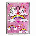 cheap iPad  Cases / Covers-Case For Apple iPad (2018) / iPad Air 2 Flowing Liquid / Pattern Back Cover Unicorn / Glitter Shine Hard PC for iPad Air / iPad (2018) / iPad Air 2
