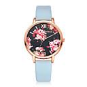 ieftine Ceasuri Damă-Pentru femei Ceas Elegant Quartz Piele PU Matlasată Negru / Alb / Pink Cool Analog Casual Modă - Negru Roz Bleumarin