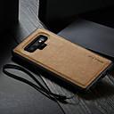 رخيصةأون Smart Plug-غطاء من أجل Samsung Galaxy Note 9 ضد الماء / ضد الصدمات / اصنع بنفسك غطاء خلفي لون سادة قاسي جلد PU