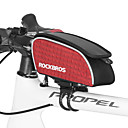 cheap Vehicle Consoles & Organizers-ROCKBROS Bike Frame Bag 15 inch Cycling for Green