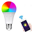 cheap Smart Lights-E27 7W LED Smart WIFI Bulbs Beads SMD 5730 Works With Amazon Alexa / APP Control / Google Home RGBW 85-265V