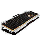 رخيصةأون Huawei أغطية / كفرات-LITBest Bloody USB سلكي لوحة المفاتيح الميكانيكية لوحة مفاتيح الألعاب الألعاب مضيء موضوع لون الخلفية 104 pcs مفاتيح