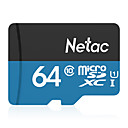 ieftine Card Micro SD-Netac 64GB card de memorie UHS-I U1 / Class10 P500