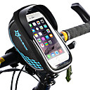 cheap Bike Lights-ROCKBROS Cell Phone Bag Bike Frame Bag Top Tube Touch Screen Waterproof Lightweight Bike Bag TPU EVA Polyster Bicycle Bag Cycle Bag Cycling / iPhone X / iPhone XR Bike / Bicycle / iPhone XS
