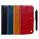 ieftine Carcase / Huse de Xiaomi-Maska Pentru Xiaomi Xiaomi Pocophone F1 / Xiaomi Mi 8 / Xiaomi Mi 6X(Mi A2) Portofel / Titluar Card / Cu Stand Carcasă Telefon Mată Greu PU piele
